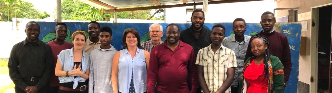 TTF Board members Colleen and Tom with TTF Zambia Staff