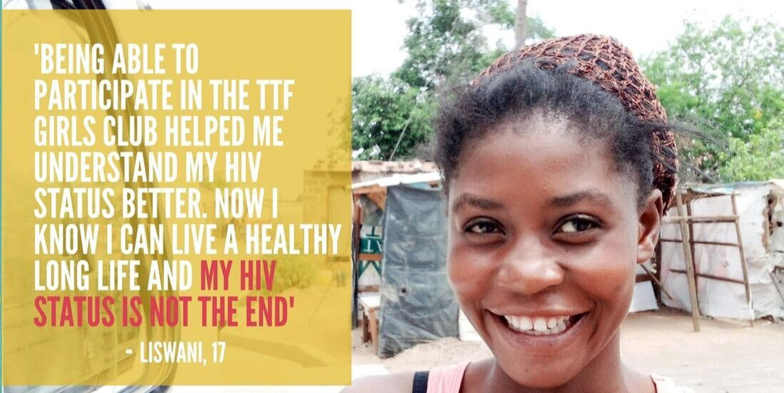 Liswani, a Patient at TTF