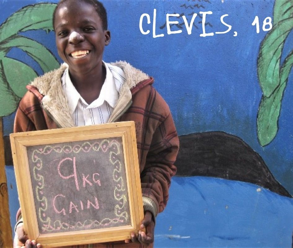 Clevis, who was part of the nutrition program